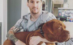 El perro de Leo Messi